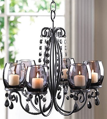 Large /& Small Monticello Antiqued Wood Frame Rustic Candle Lanterns One of Each
